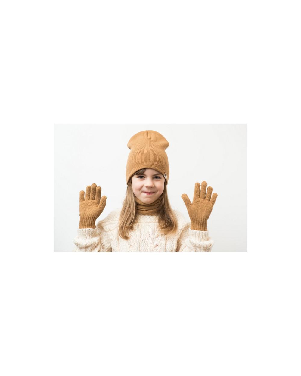 Vaikiška pusvilnonė dviguba kepurė 086