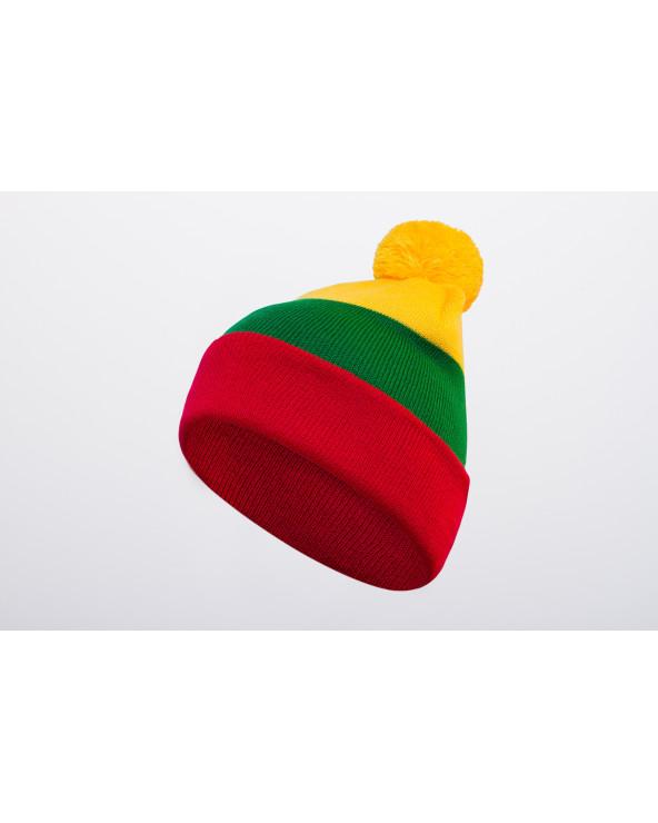 Lietuviškos atributikos dviguba kepurė 478