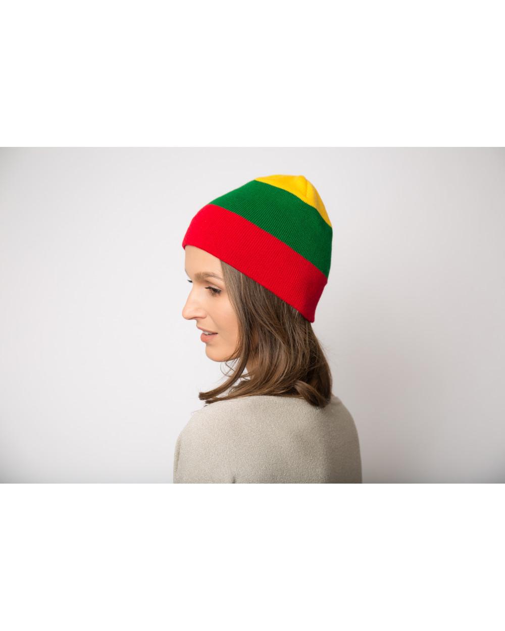 Lietuviškos atributikos dviguba kepurė 791