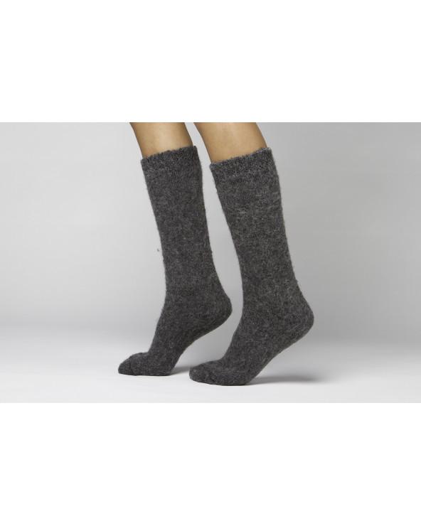 Vilnonės pūkuotos kojinės iki kelių 768
