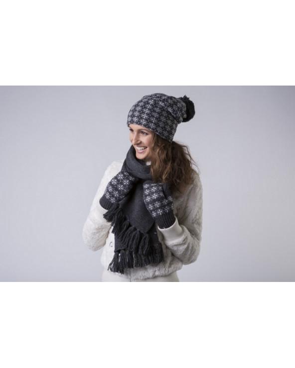 100% Wool fringed scarf 959