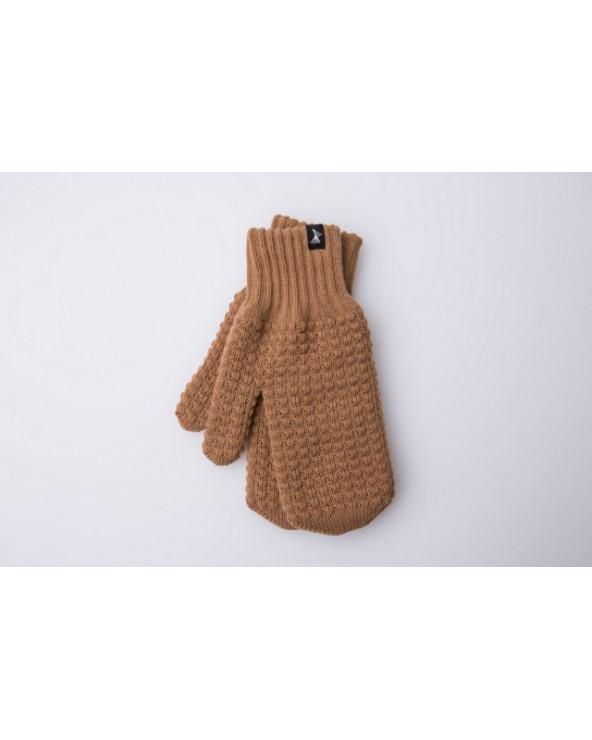 Semi - wool double mittens 485