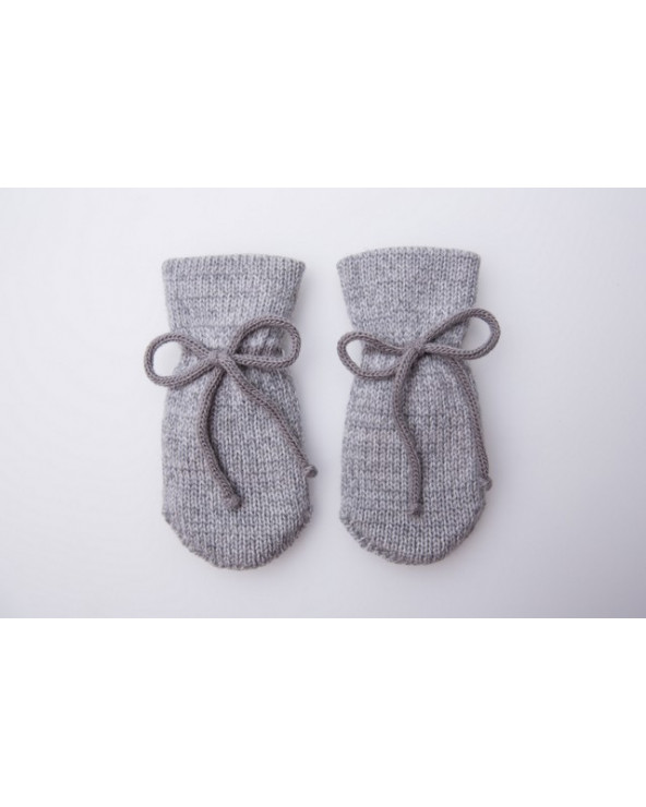 100% Wool double mittens for kids 260