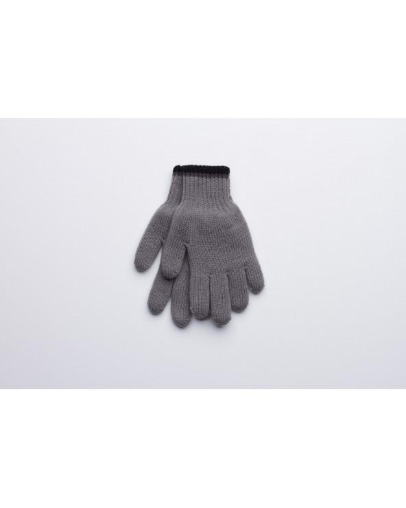 Semi - wool double gloves 222