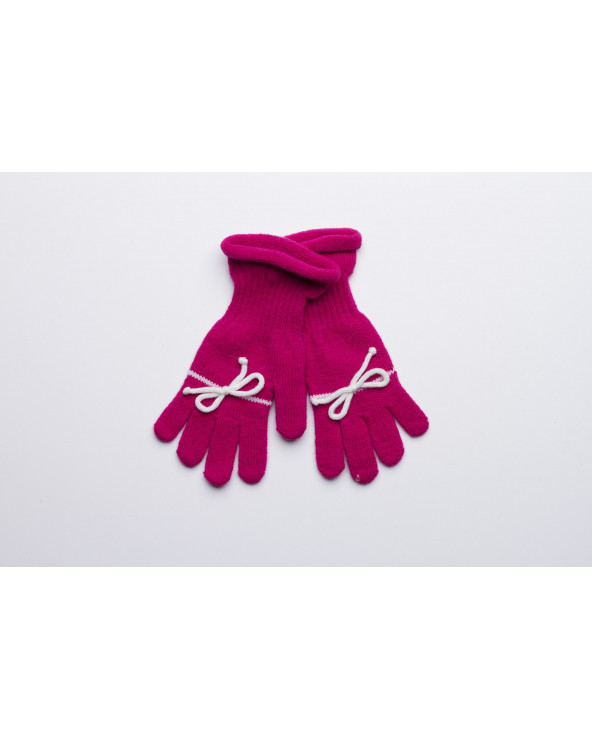 Semi - wool fingered gloves for kids 652