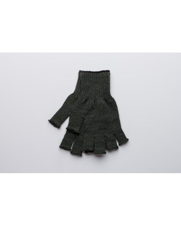 100% Wool fingerless gloves 215