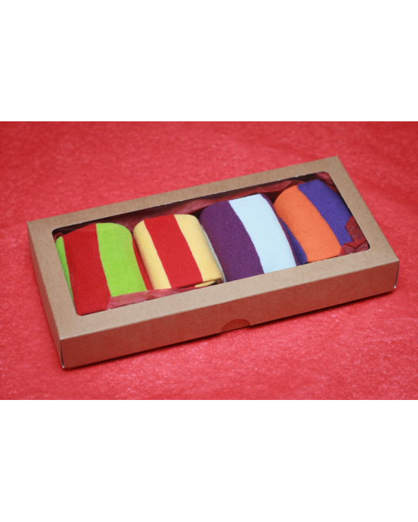 4 pairs cotton toe socks 800