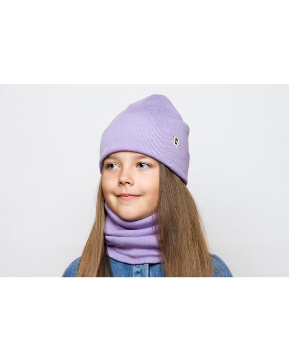 Vaikiška medvilninė dviguba kepurė 796