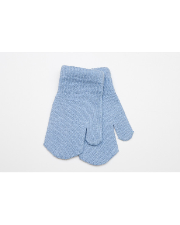 Combed cotton mittens