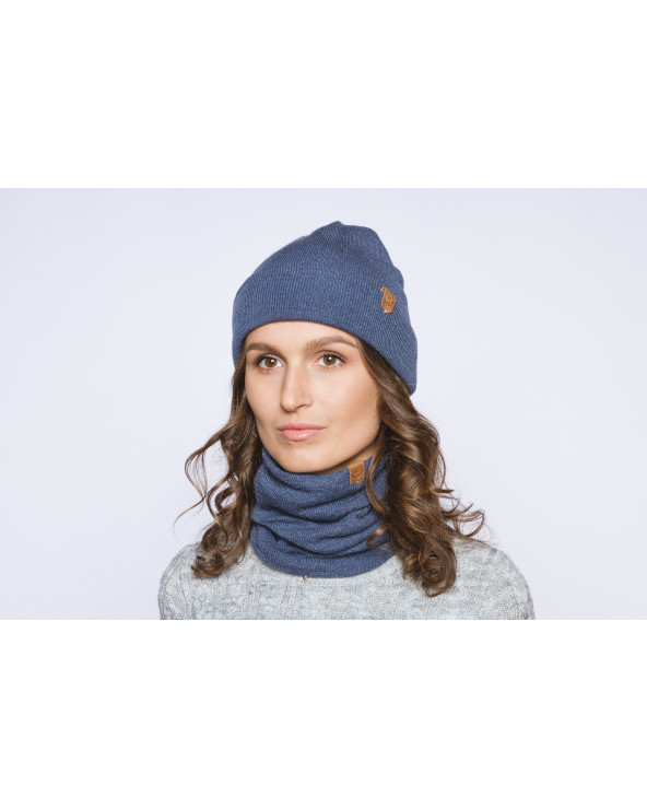 100% merino wool snood 9857