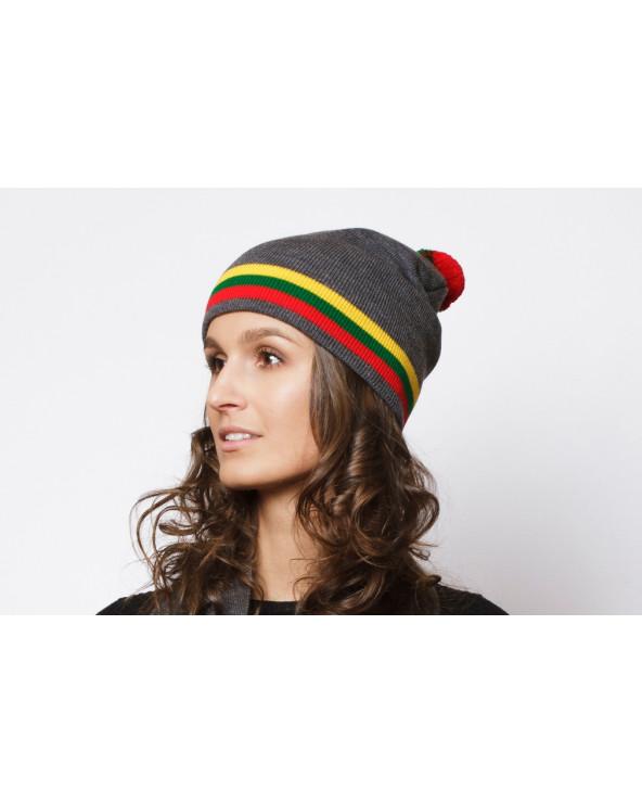 Lietuviškos atributikos dviguba kepurė 507