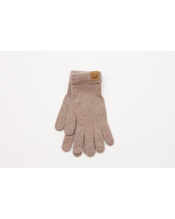 100% Merino wool fingered gloves with elastane 9758
