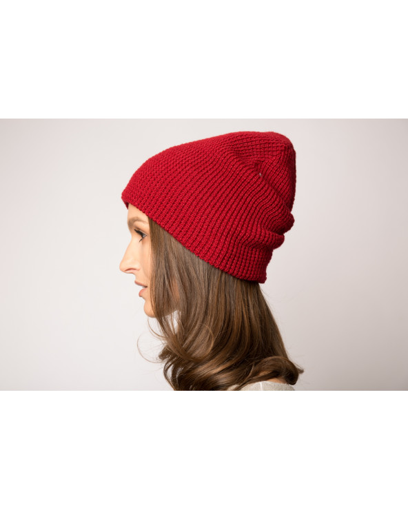 Semi-wool double hat 911K