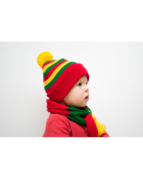 Hat with national Lithuanian colors 715