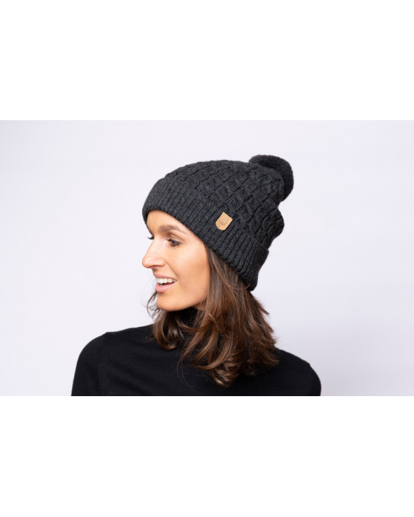 Merino wool hat 7083