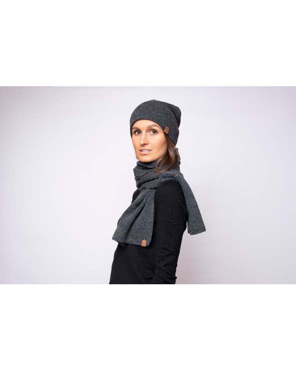 Merino wool scarf 9833