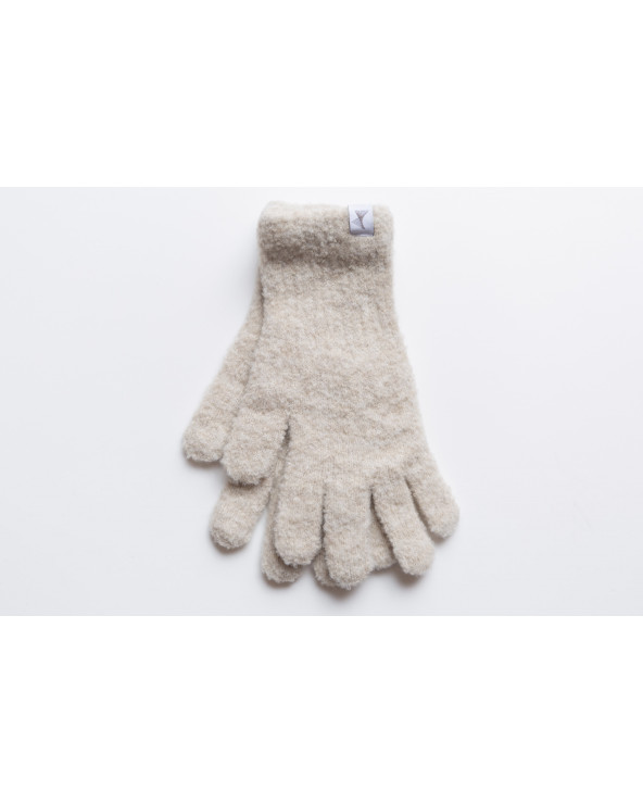Semi wool gloves