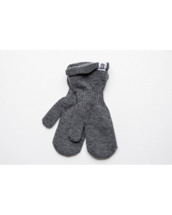 Cashmere wool mittens for kids 9356