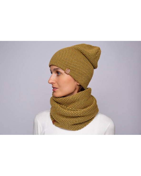 Merino wool scarf-infinity 9175