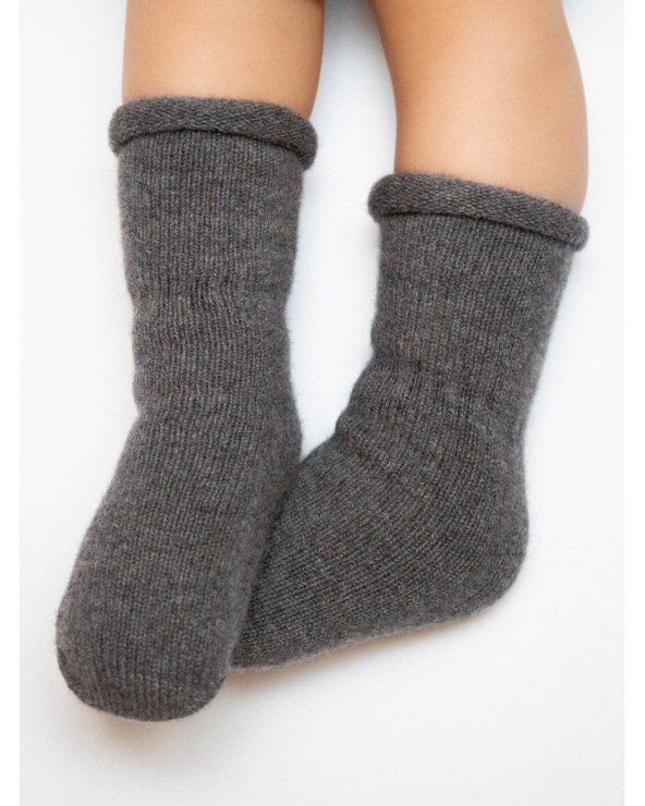 Cashmere wool baby socks 9899