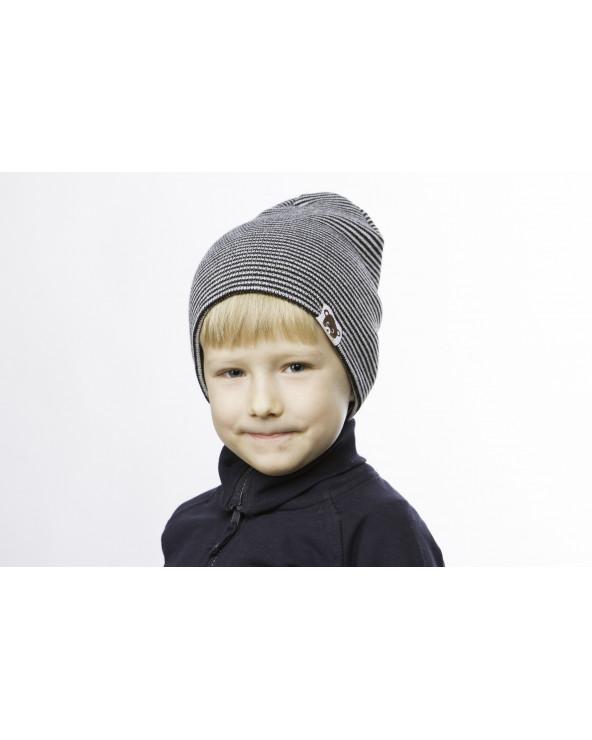 Semi - wool double hat for kids 180