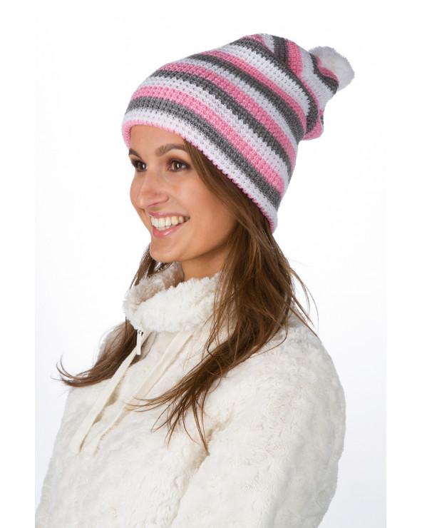 Double striped hat 343