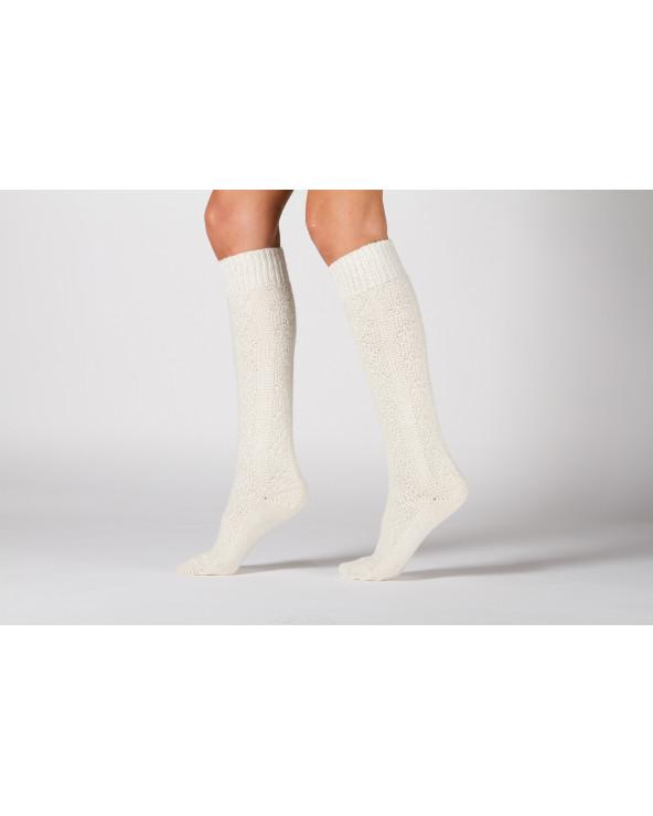 Woolen patterned long socks 178