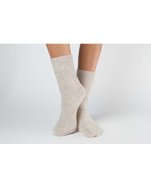 Woolen patterned socks 154