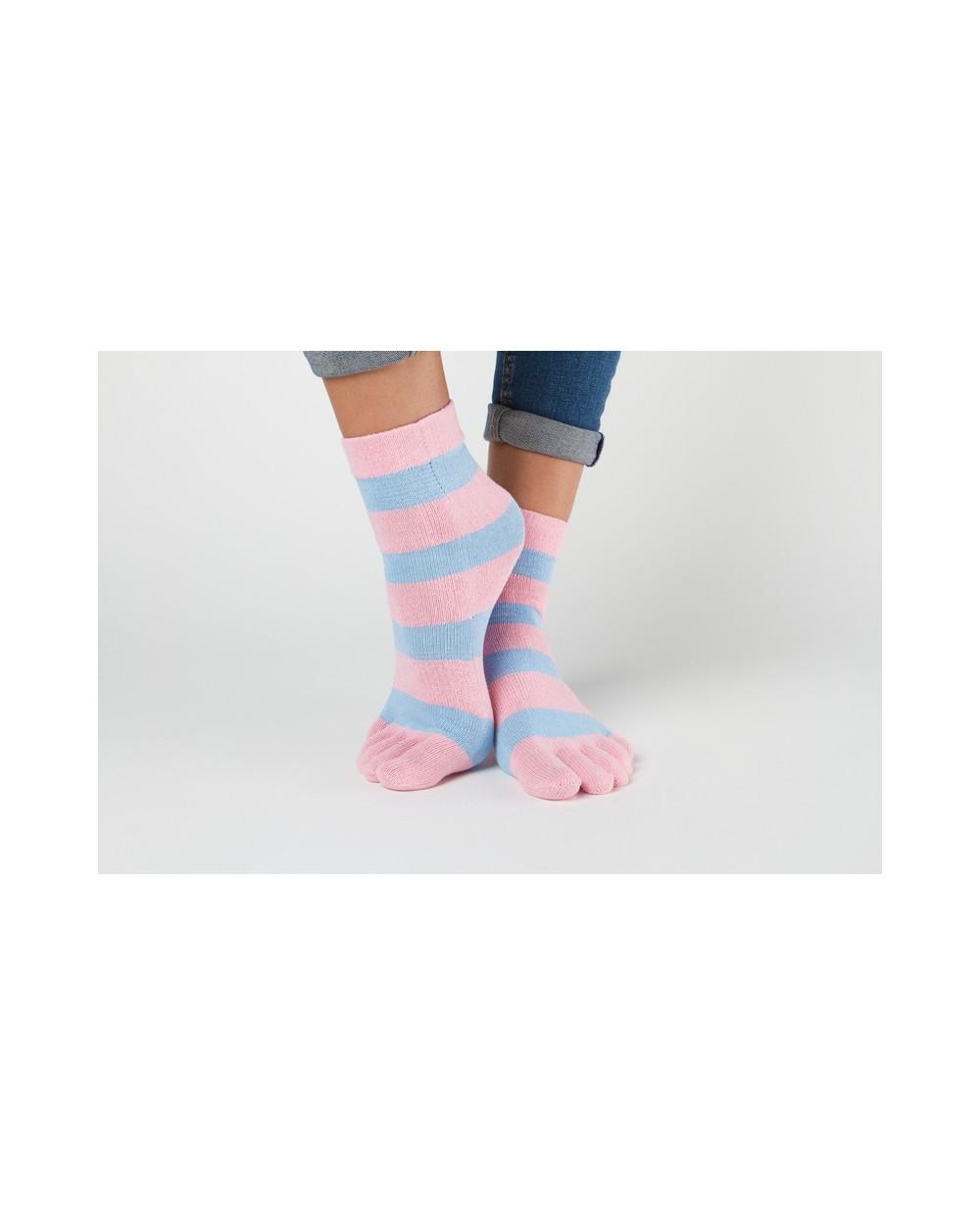 Pirštuotos kojinės su juostomis 800