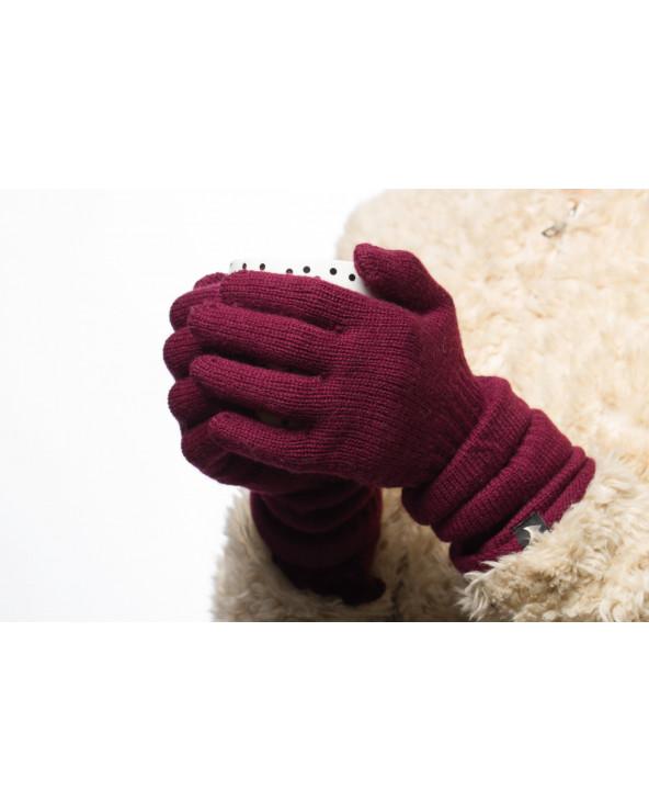 100% Wool long gloves 706