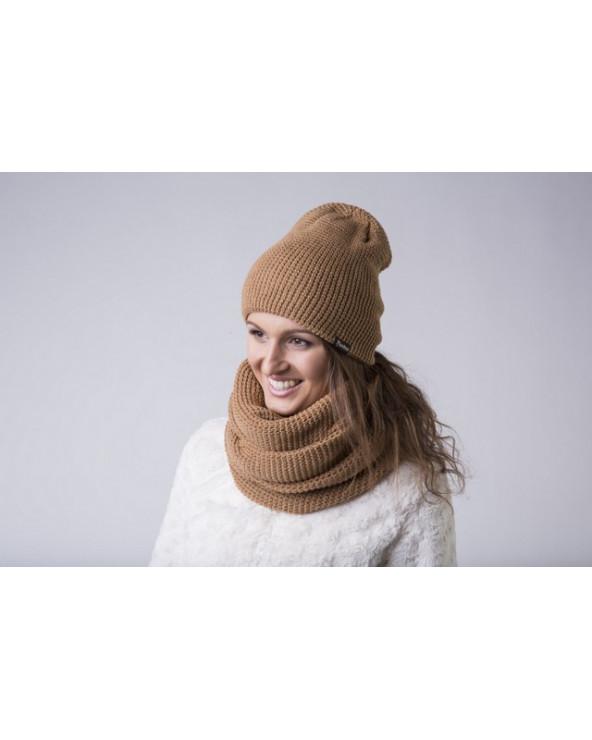Semi - wool scarf - infinity 737