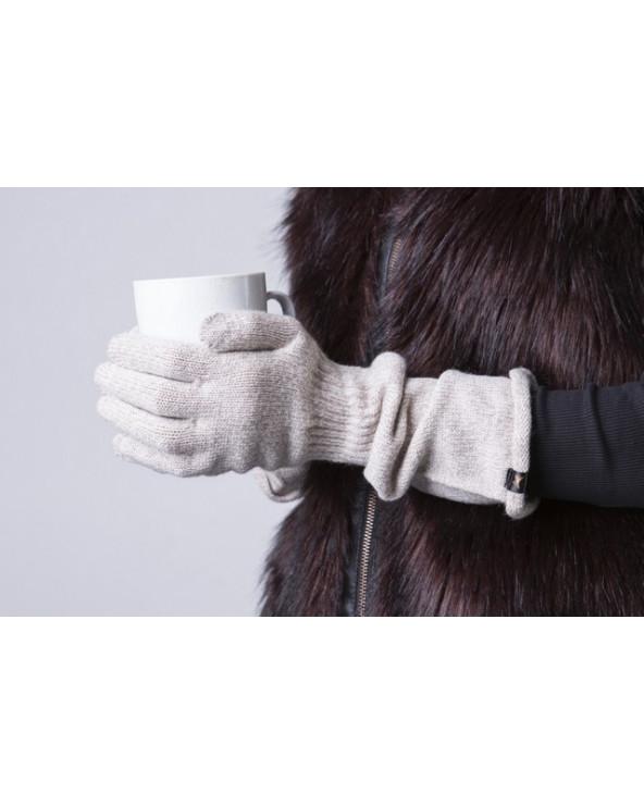 100% Wool long gloves 383