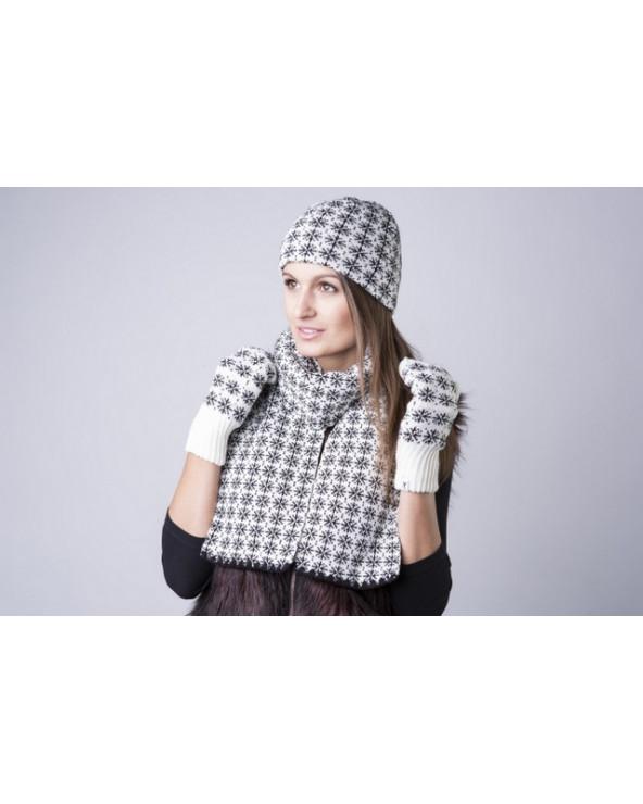Pusvilnonė dviguba kepurė 159
